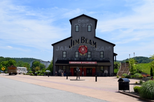 Jim Beam American Stillhouse, Clermont, KY.