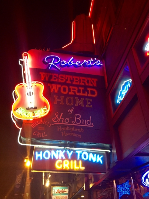 Robert's Western World, Broadway, Nashville, TN