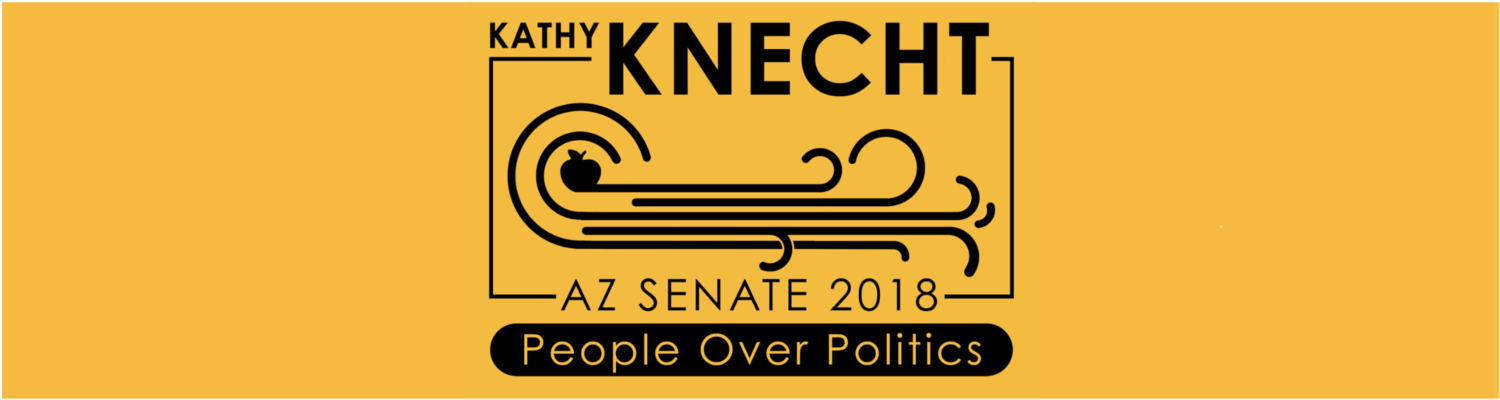 Kathy Knecht for Arizona Senate in 2018