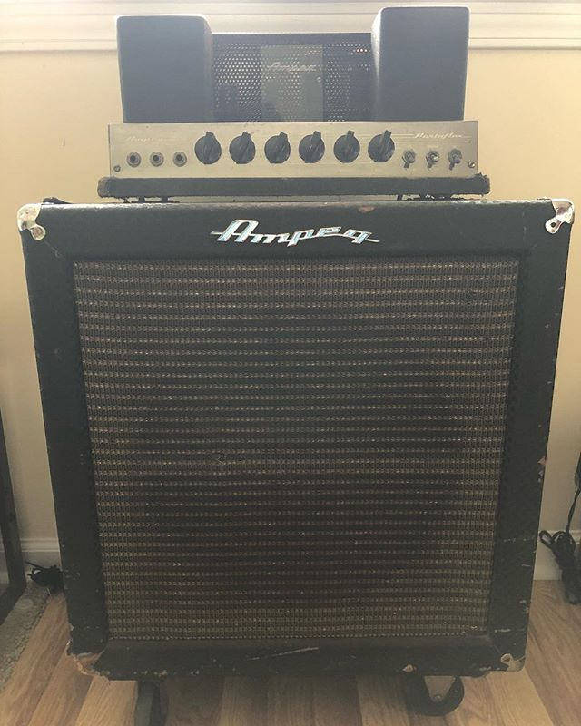 Selling the ole '66 B-15N. You are the real deal. Sniffles... #ampeg #B15