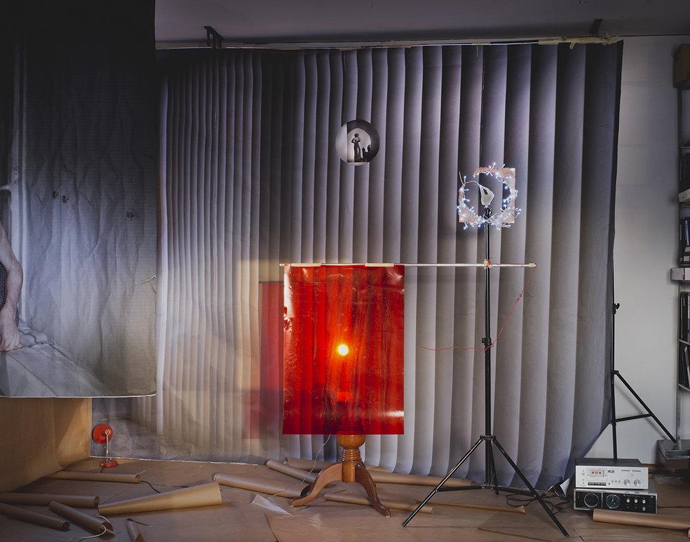 Red, 2016,150X185, inkjet print