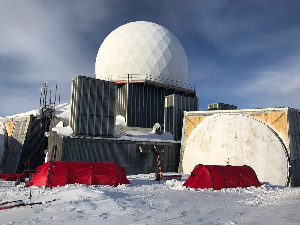 DYE 2. Former U.S Advanced Early Warning Station in Greenland.