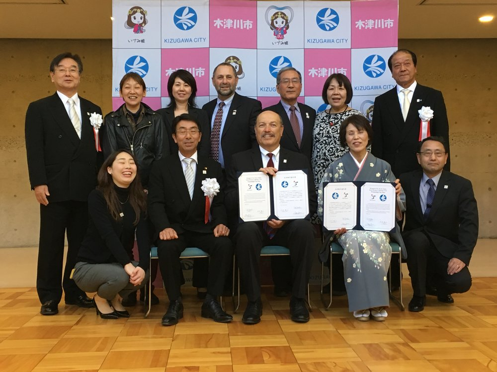 Tony attending the celebration of Santa Monica's sister city Kizugawa, Japan