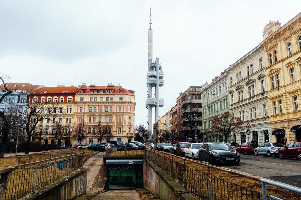Žižkov Television Tower, Prague