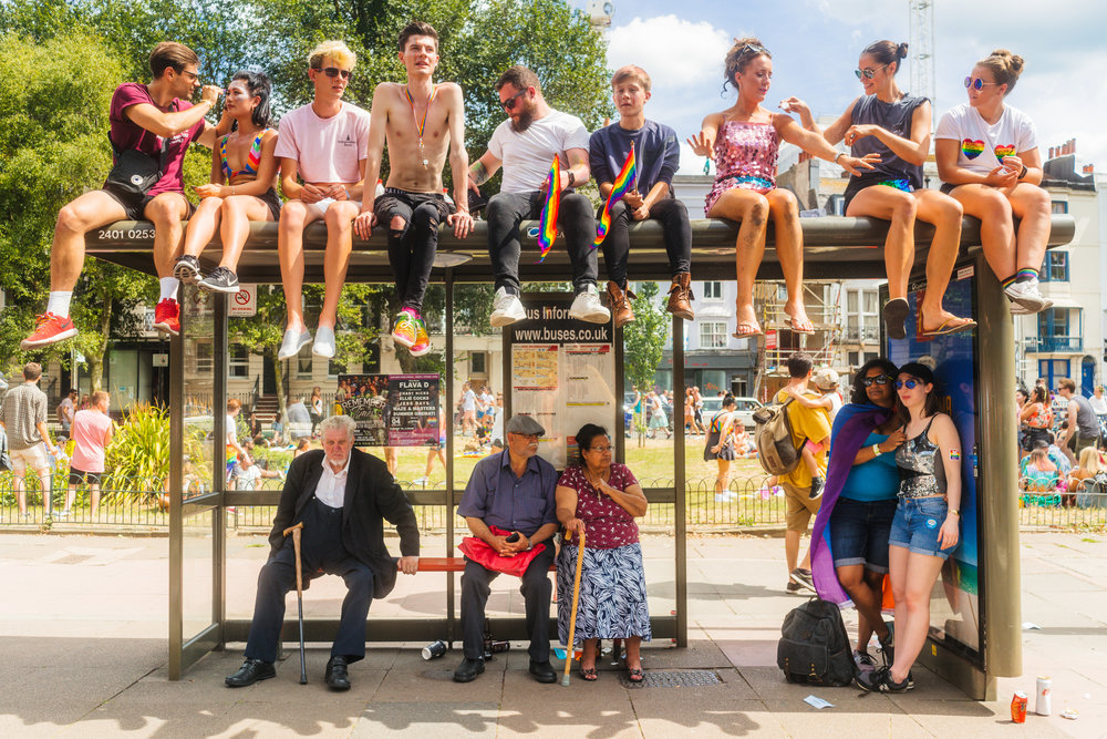 Pride Bus Stop