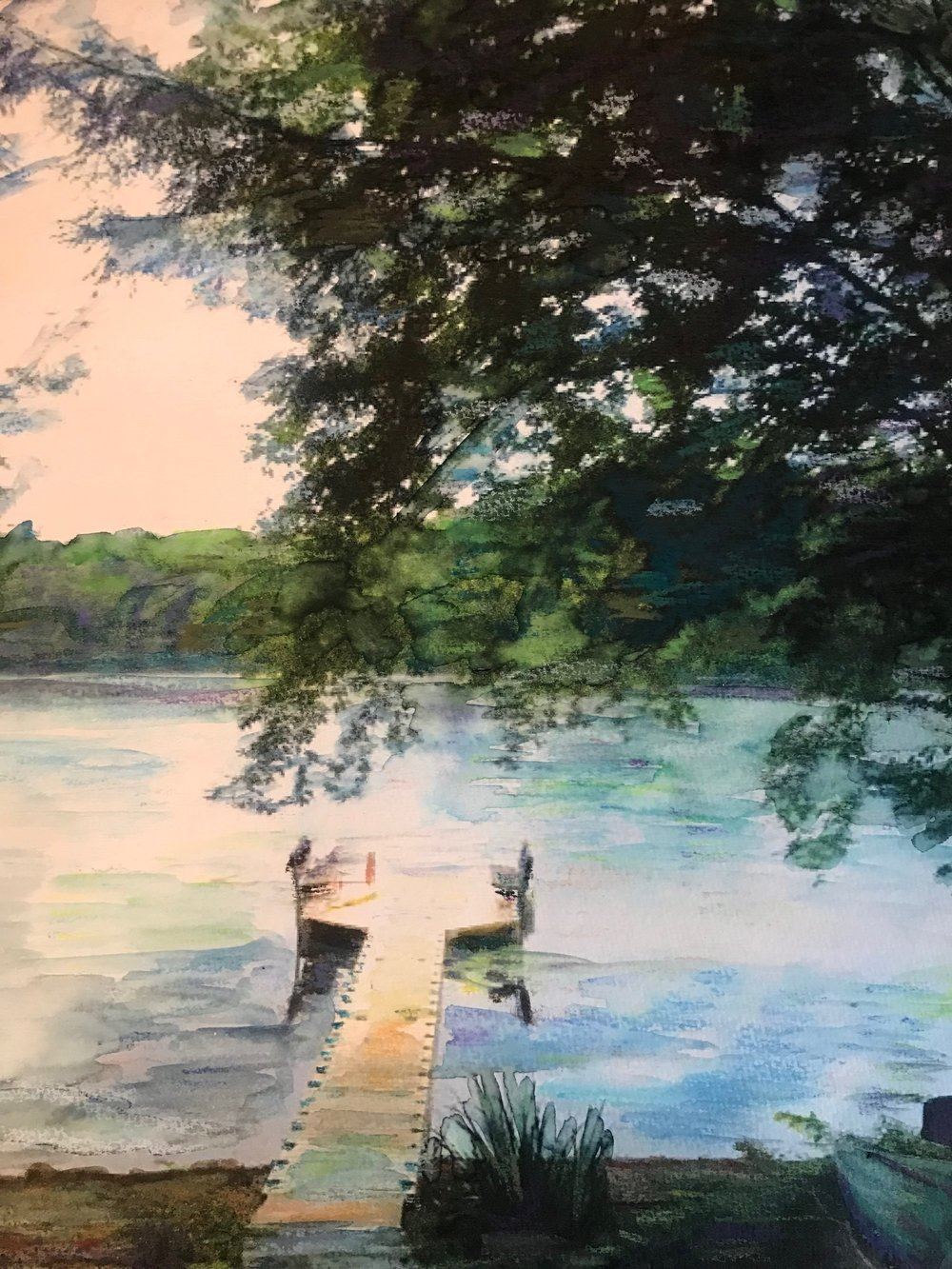 Painting by Jane Roberts at  JaneRobertsArt.com