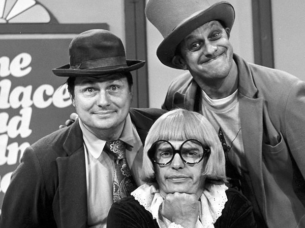 """Wallace, Ladmo, and Gerald, the """"private school brat"""" (one of Pat McMahon's many characters on the show.)"""