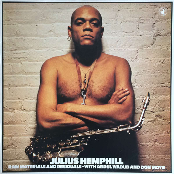 Julius Hemphill in 1978, the year I had a lesson with him. I later got to play with him in three big band concerts of his music.