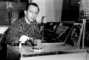 Mort Fega was a well-known NY jazz disc jockey with a show on WEVD. Jazz listeners know him as the announcer on Miles Davis's  Four and More  live album. He broadcast jazz at midnight on KXIV, 1400 AM in Phoenix from a windowed street-level studio on Central Avenue, in the building that housed the Phoenix Playboy Club from about 1969 -76. The station was co-owned by Dick Van Dyke. Brooke took me to visit the studio and watch Mort work a couple of times. My father used to tape the overnight show on reel-to-reel and listen to it later. Aircheck courtesy of the late Steve Schwartz of WGBH Boston.   http://www.nytimes.com/2005/02/14/arts/music/mort-fega-jazz-disc-jockey-is-dead-at-83.html?_r=0