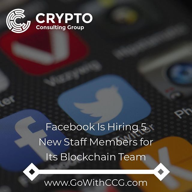 "Facebook is hiring. . The social media giant now has five job openings for blockchain talent at its Menlo Park, California, headquarters in the areas of data science, software engineering and marketing. . While the firm's possible plans for blockchain have not yet been revealed, the ads on its careers pages state that the ultimate goal is to help ""billions of people with access to things they don't have now."" It further cites ""equitable financial services, new ways to save, or new ways to share information"" as some potential use cases for the tech. . . . #crypto #facebook #blockchain #jobs #tech #ico #bitcoin #btc #ethereum #cryptocurrency #news #louisville #kentucky"