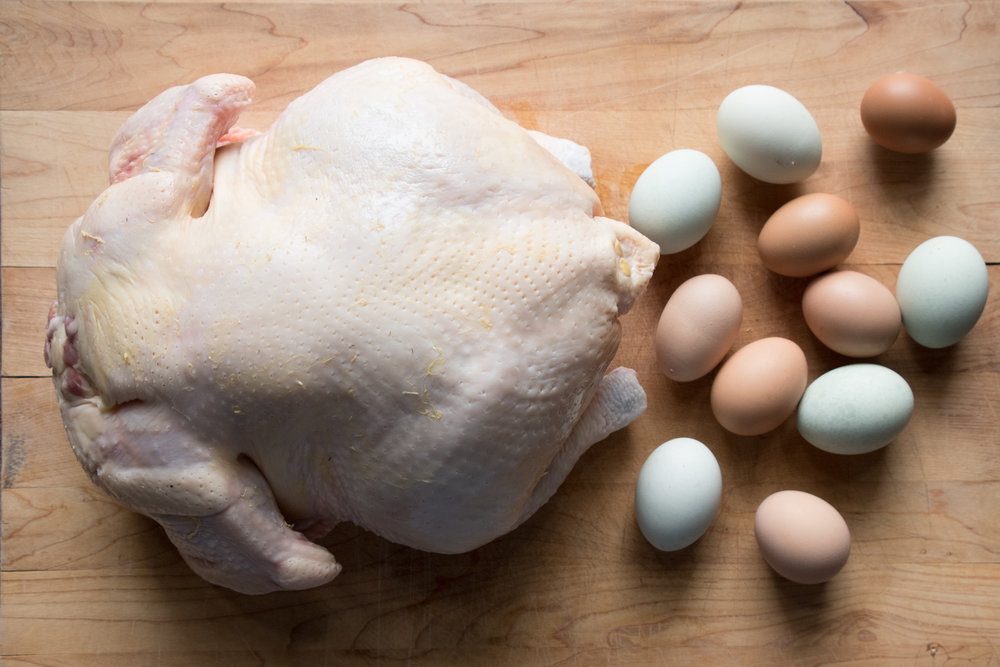 FRESH CHICKEN AND EGGS - We have the unique ability to provide the absolute freshest chicken possible.