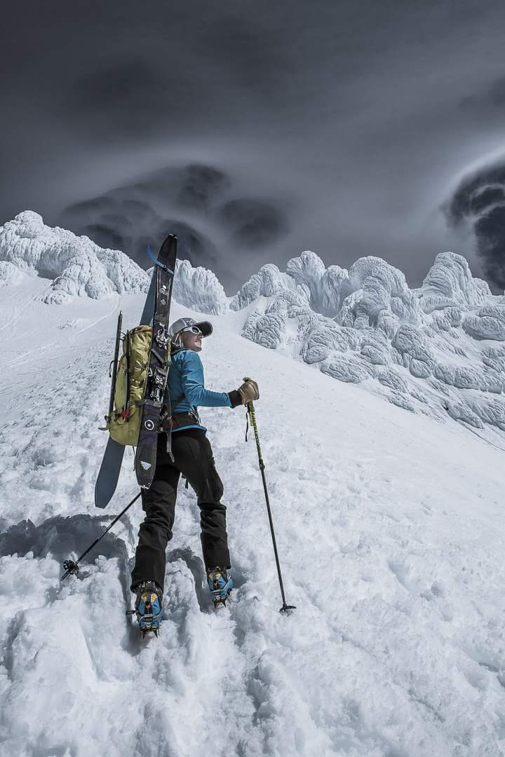 Climbing Mt Hood, OR
