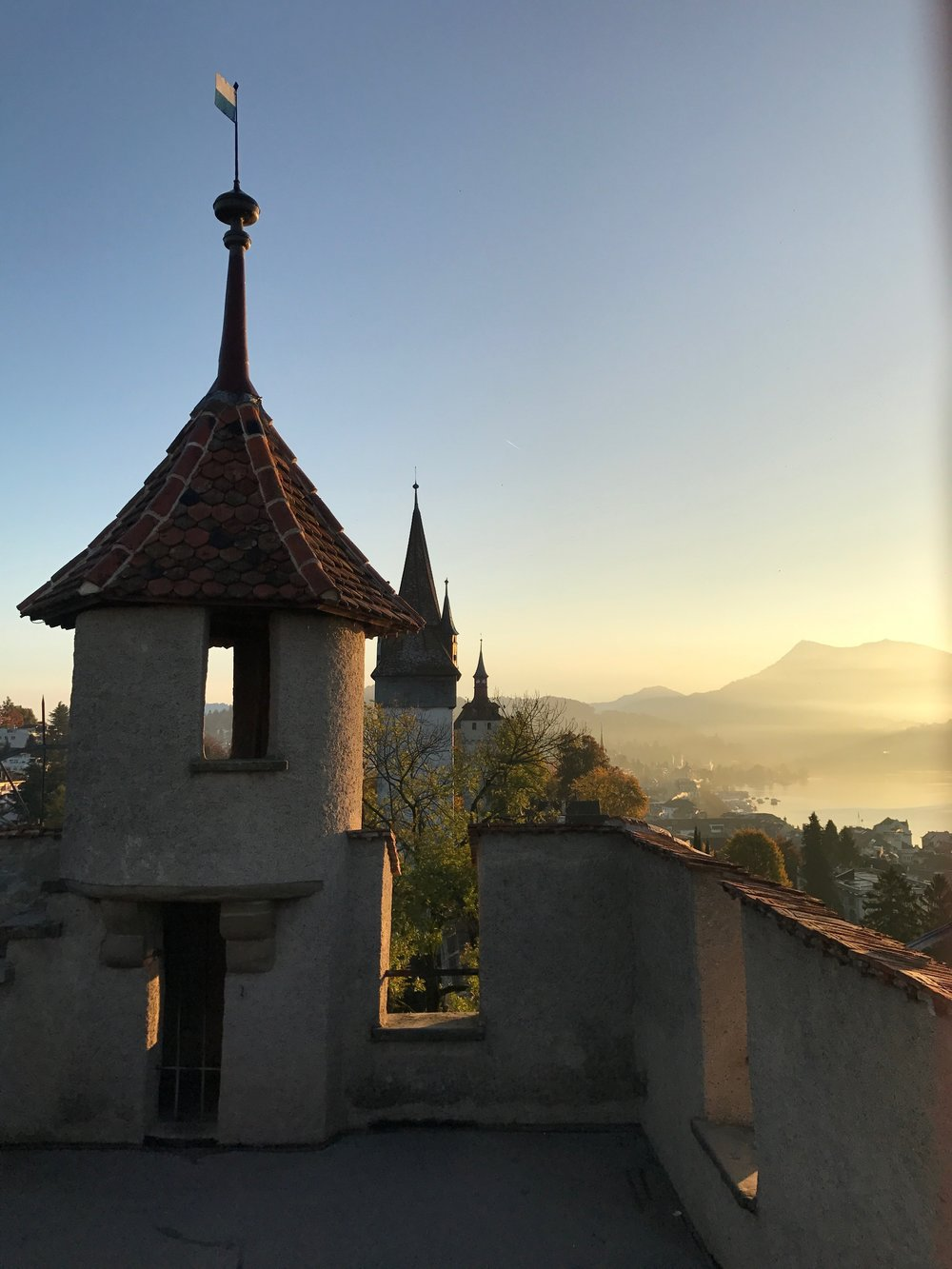 Morning views from the castle