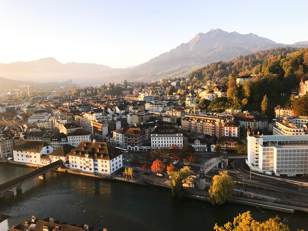 Lucerne sunrise