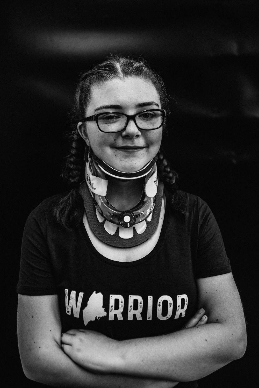 Emma, Catalyst for Change Wear Warrior | Portrait by Rebecca Elaine
