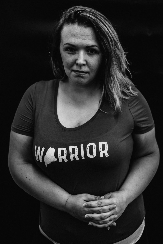 Meg, Catalyst For Change Wear Warrior | Portrait by Rebecca Elaine