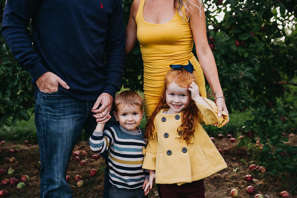 Maine Family Orchard Session | Beaux & Arrows Maine Photographer Portrait by Rebecca Elaine