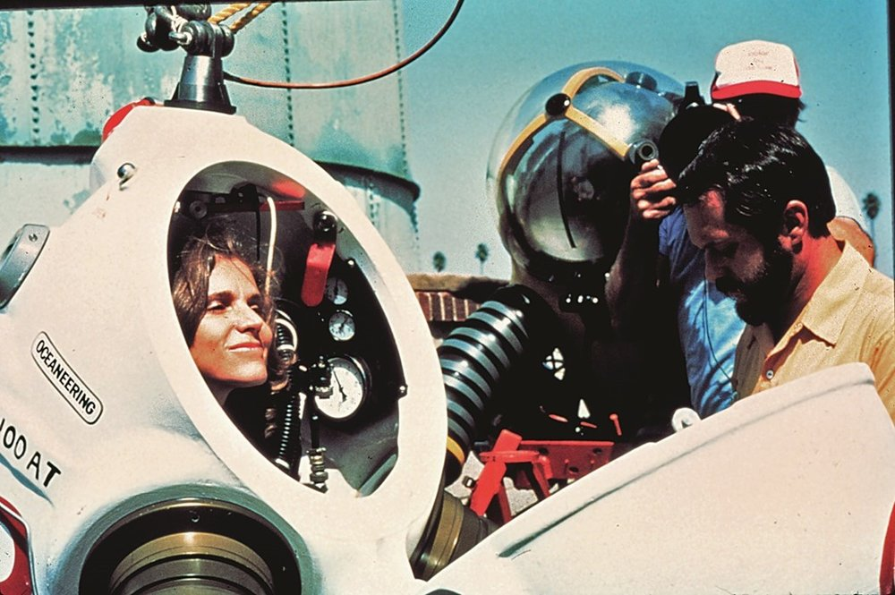 - As a long standing pioneer of deep sea diving and celebrated oceanographer.  we've long admired Dr. Sylvia Earle (aka her deepness) with  unwavering dedication and passion for our shared playground, the ocean.