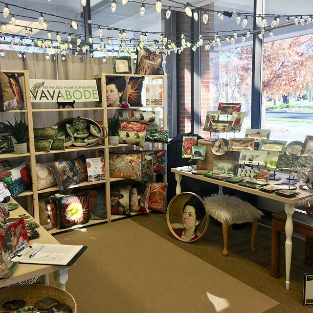 Come see us at the Handmade Arts and Crafts Show at Colorado College (Worner Building at Cache la Poudre and Cascade Ave) today and Sunday 10-5. Gifts galore! #vavabode #holidayfair #holidaygifts #handmadegifts #homedecor #handmadeholiday #holidaydecor