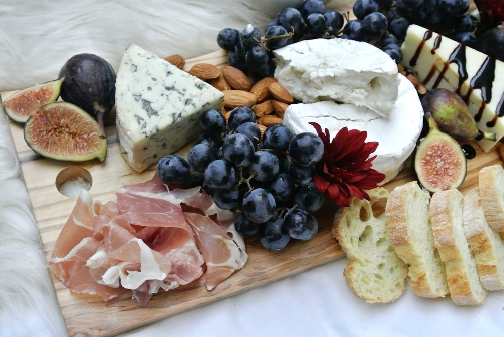 Perfect Cheese Plate at Home via Crush Co.