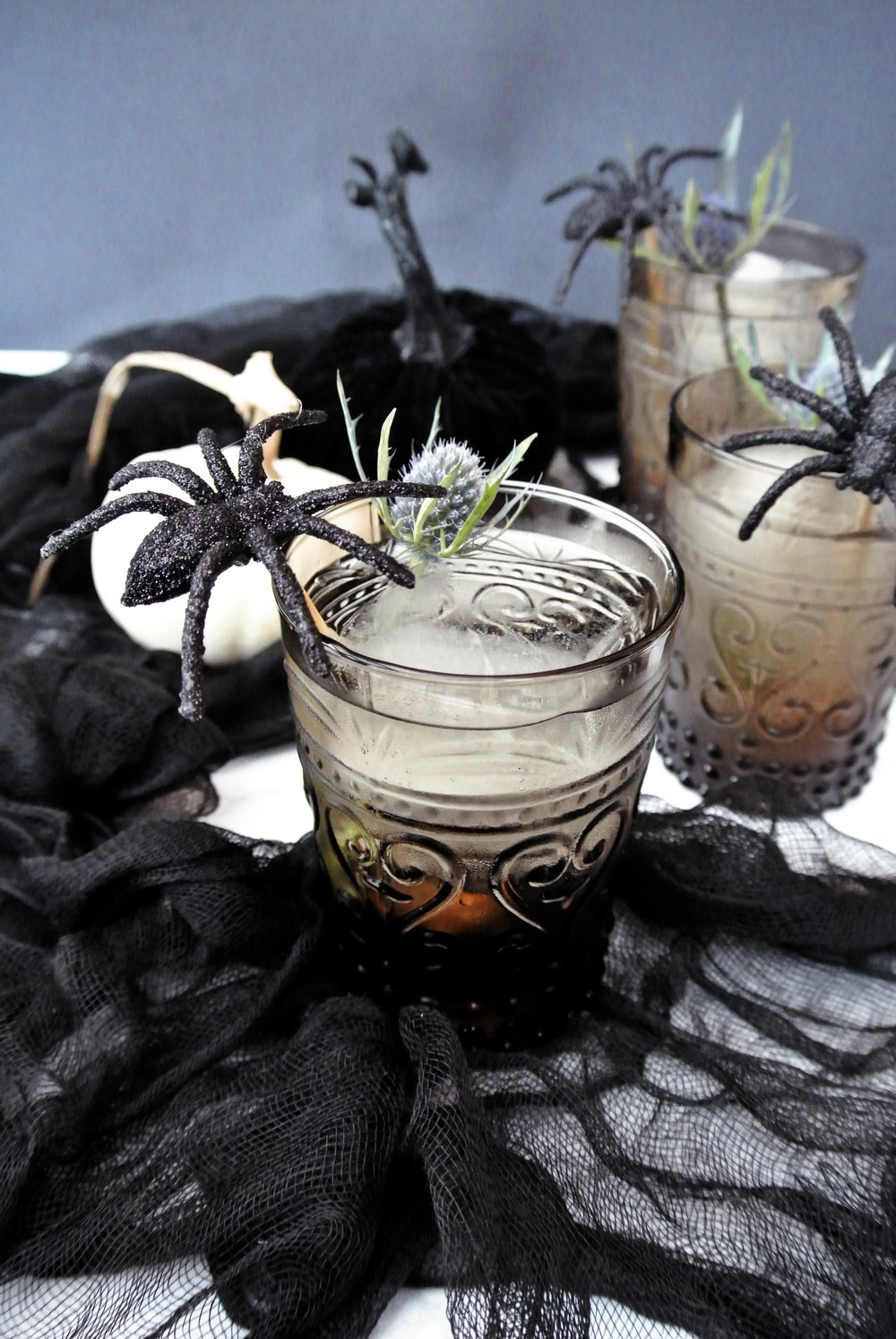 IMG_4212.JPGDIY spider stir sticks for Halloween | via crush co.