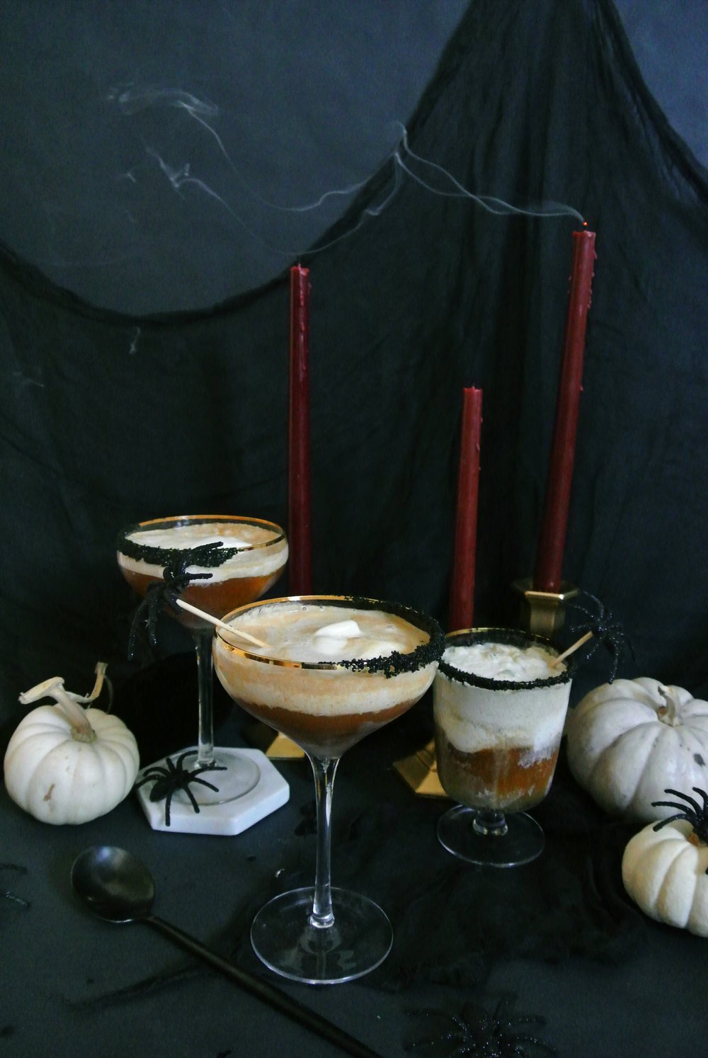 Boozy Halloween Floats | via Crush Co.