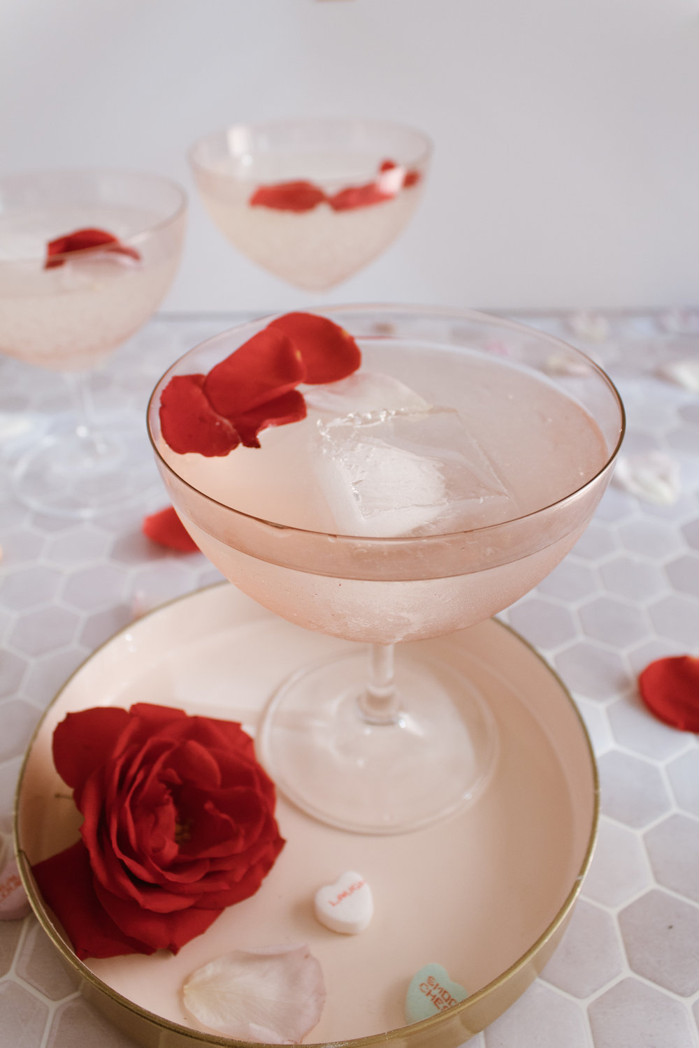 Rose Cocktail via Crush Co.