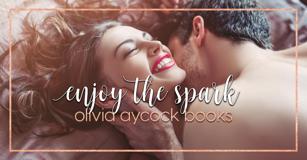 For Twitter:  Check out @AycockBooks brand new website…and her giveaway for a $25 Amazon Gift Card. http://oliviaaycockbooks.com/news2019/2/18/enjoy-the-spark    For Facebook:  Check out /OliviaAycockBooks brand new website…and her giveaway for a $25 Amazon Gift Card. http://oliviaaycockbooks.com/news2019/2/18/enjoy-the-spark
