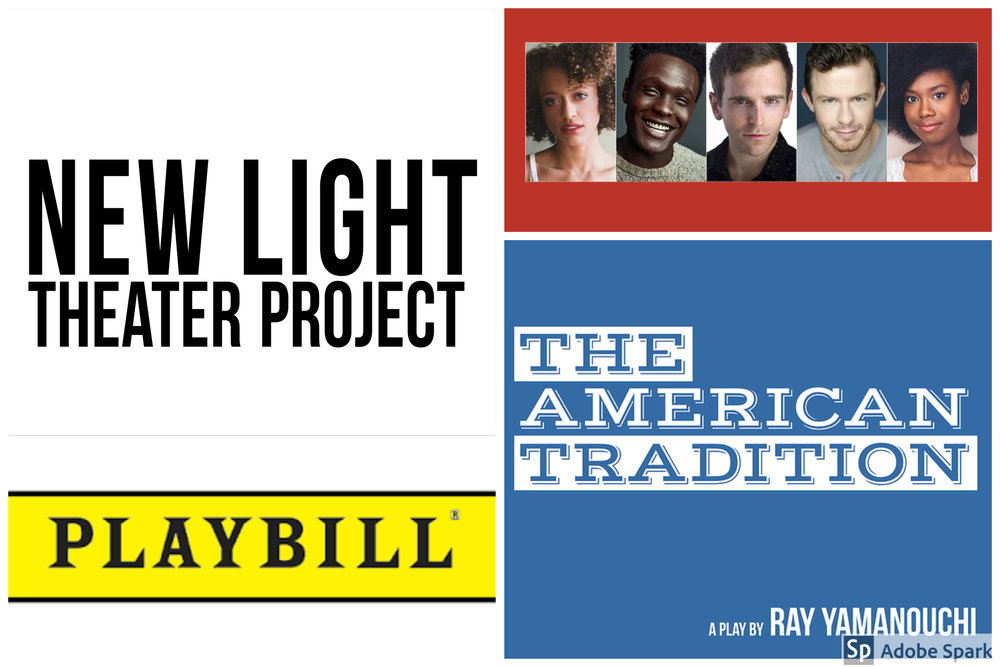 It's a great day for an Off Broadway Debut!!! - Playbill & Broadway.com introducing the World Premiere of The American Tradition!