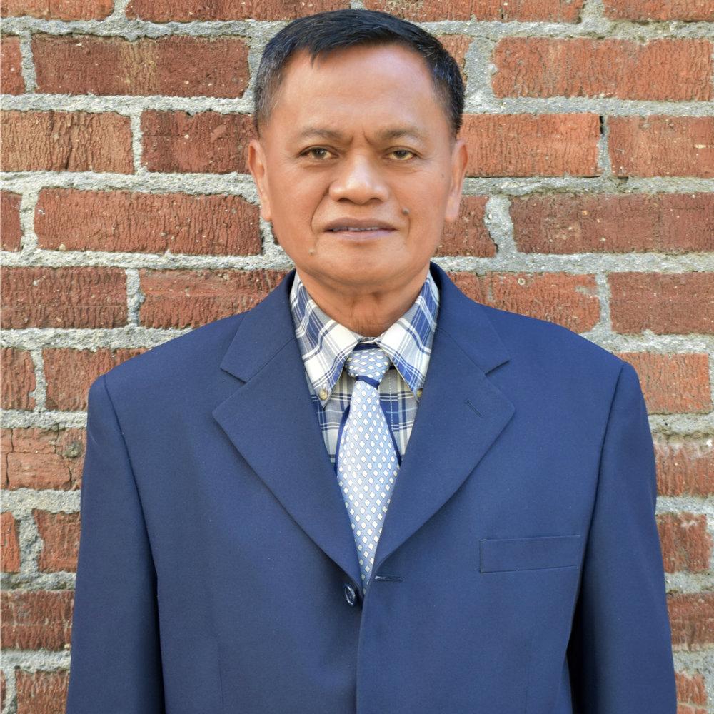 Lead Pastor <br> Rodolfo Sumaling