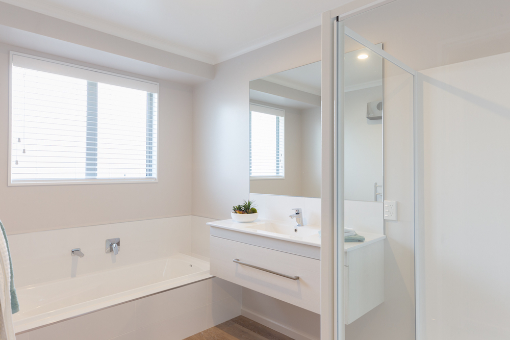 Milestone homes bathroom 1