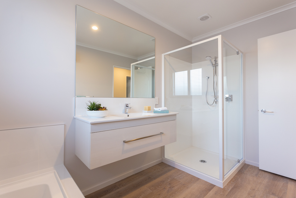 Milestone homes bathroom 2
