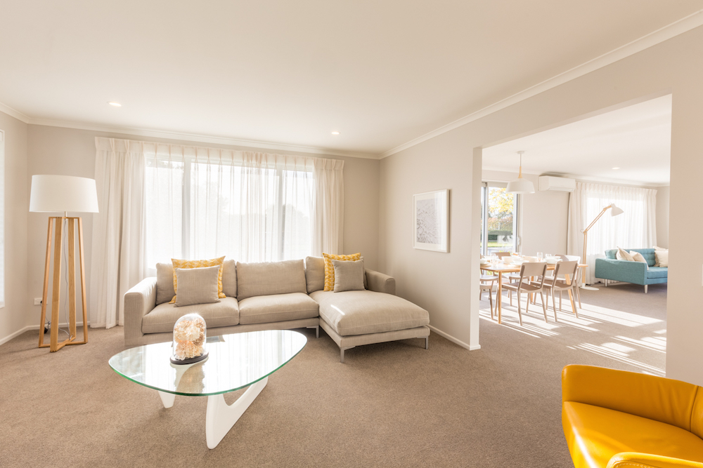 Milestone homes lounge 2