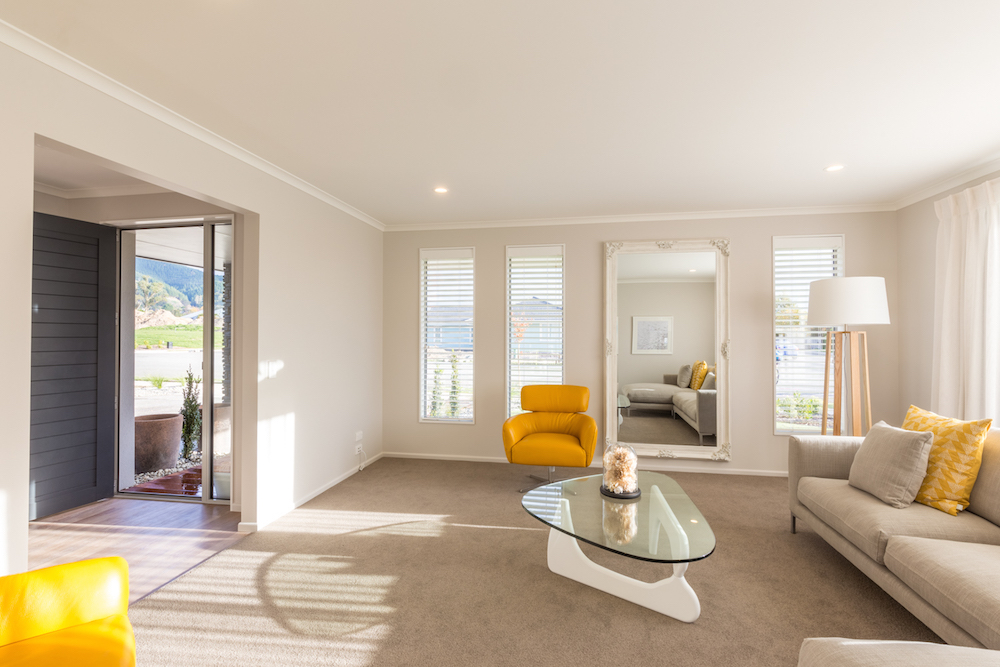 Milestone homes lounge 3