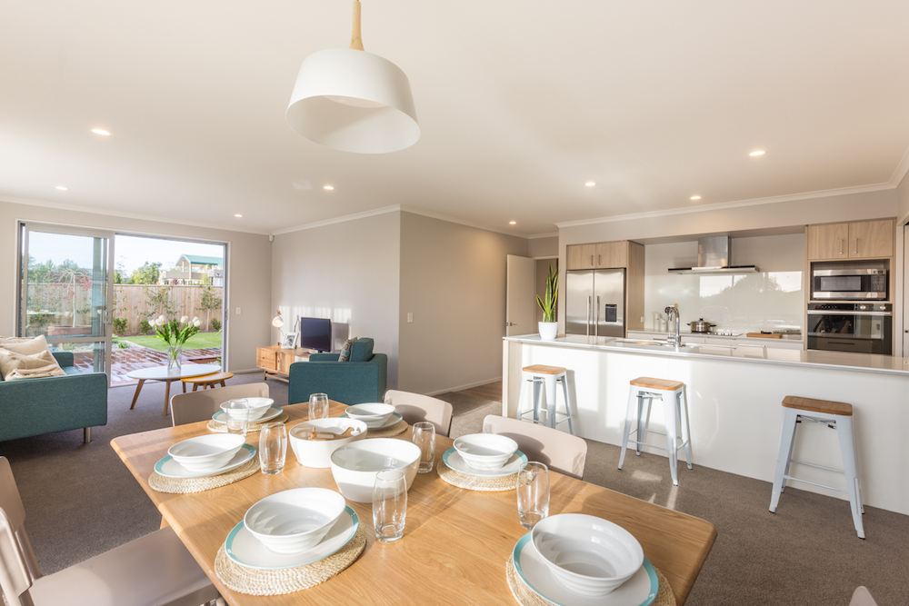 Milestone homes dining room 4