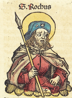 Woodcut from the  Nuremberg Chronicle