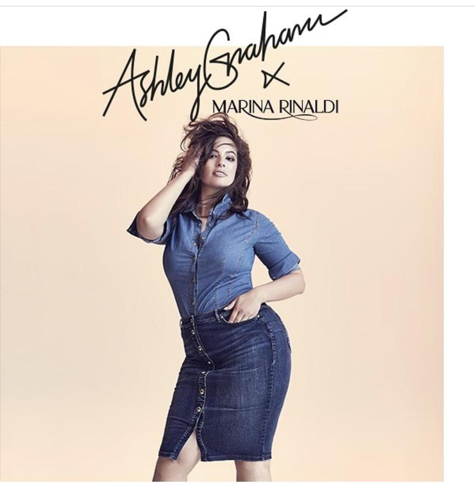 5b17227625bde Ashley Graham ✖ Marina Rinaldi — FYBS