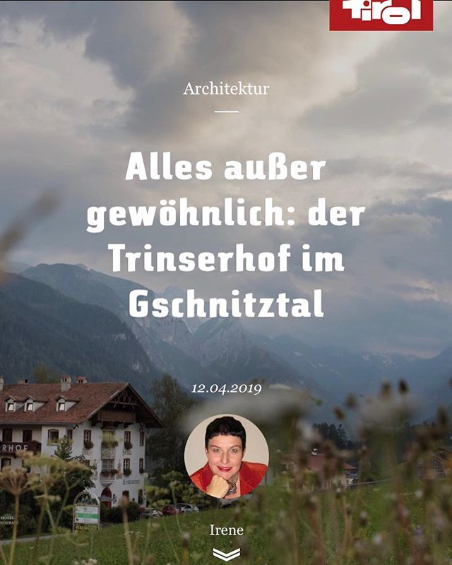 Thank You blog.tirol for this lovely article about our Family and Trinserhof! #lovetirol #family #hospitality #alps https://www.blog.tirol/2019/04/der-trinserhof-im-gschnitztal #blogtirol