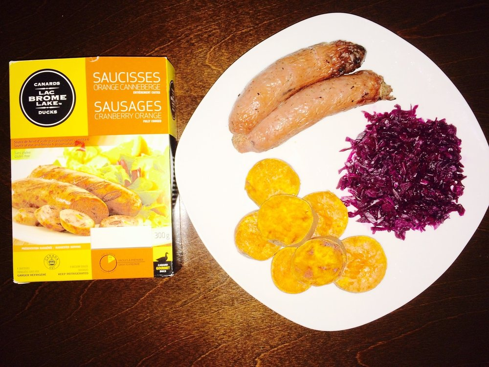 Choucroute et saucisses