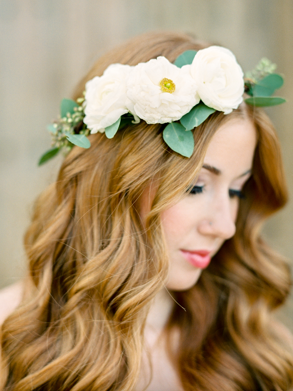 Half Crown With Small Blooms Phoenix Flower Crowns