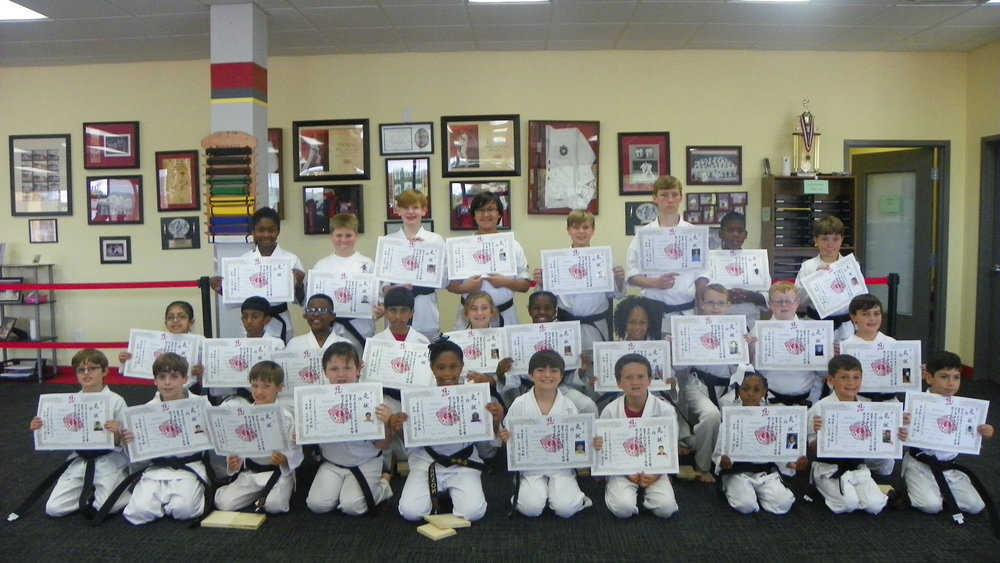 May 14, 2016 Black Belt Test