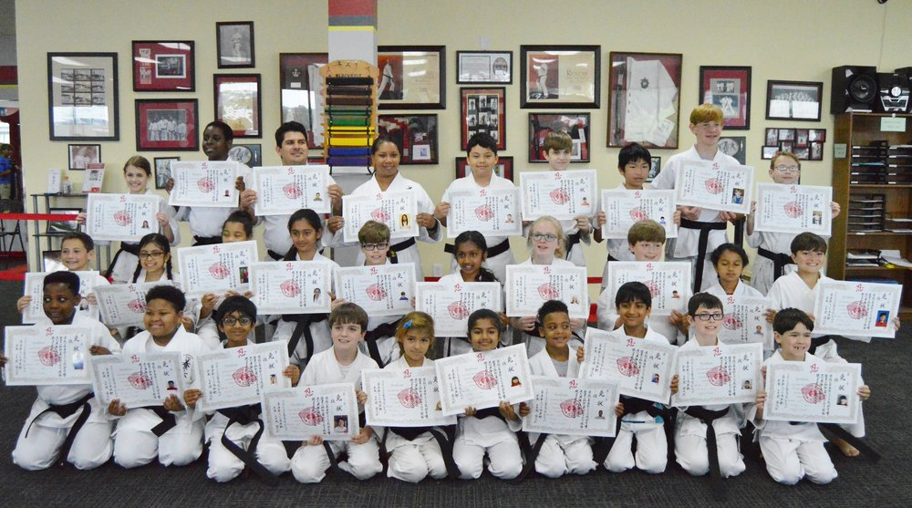May 20, 2017 Black Belt Test Photo's