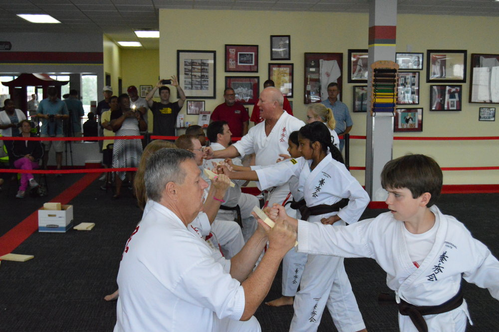 May 20, 2017 Black belt testing Photo