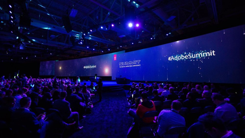 Adobe Summit: Video Screen and Repeater screen assembly