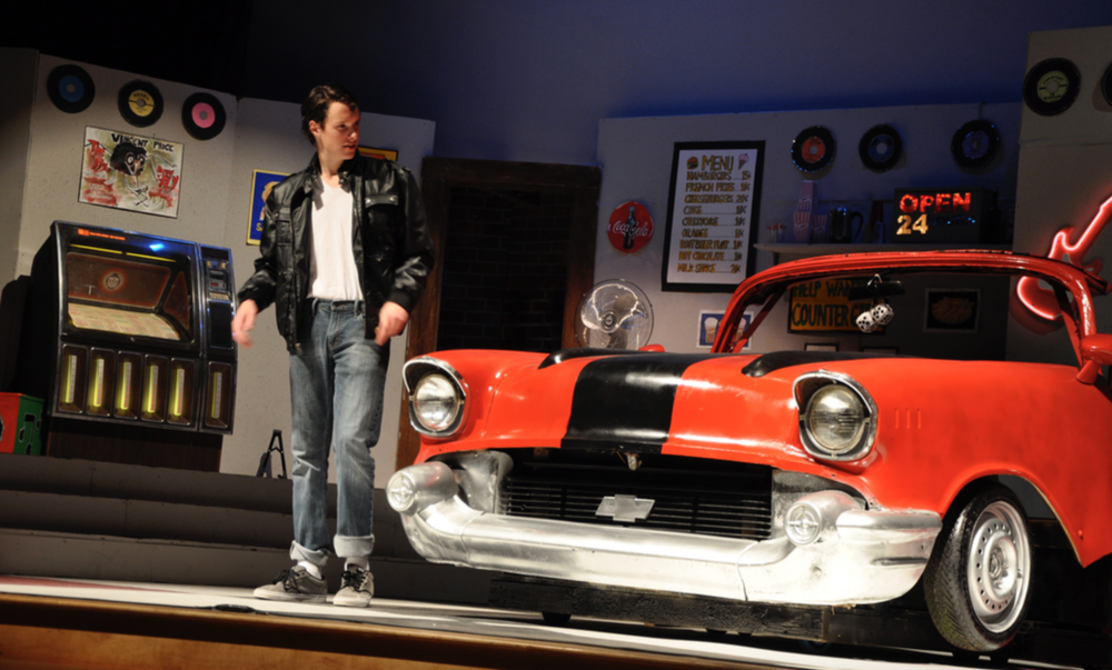 "Saint Andrew's School- ""Grease"" (Scenic/Lighting Designer, Technical Direction, Sound Engineer)"