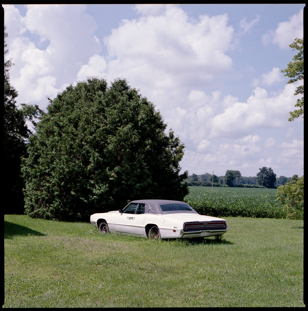 Kodak-Portra-160-Hasselblad-501CM-6x6-Chatam-Ontario-vintage-car-surreal-summer-scene.jpg