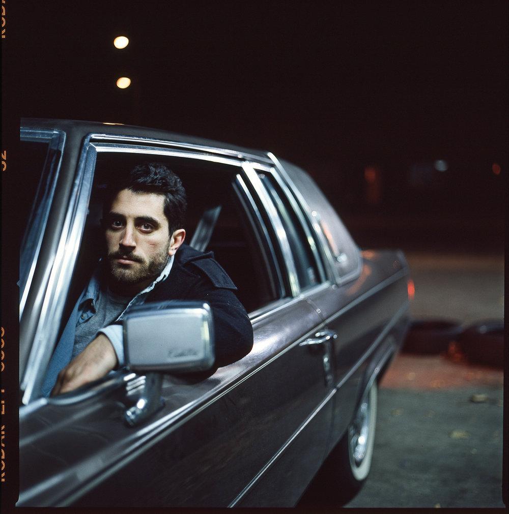 52-Kodak-Colorplus-200_Toronto_Night-Portrait_Steve-Hosier-with-Cadillac_Environmental-Portrait.jpg