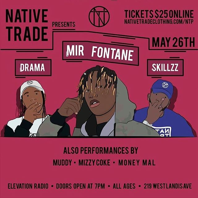 SOUTH JERSEY!!! Tonight is the night! 🌲🔥Doors open at 7 pm. Tickets available at the door every body pop out!!! 🧀🦍🌲🎒#tradeway
