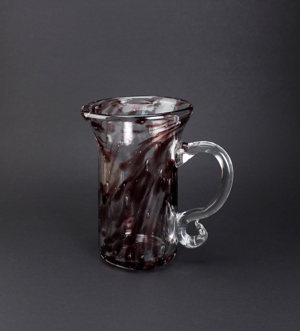 Twilight Mug   Glass  4 1/4'' x 3 1/2'' x 5''  11cm x 9cm x 13cm  2015