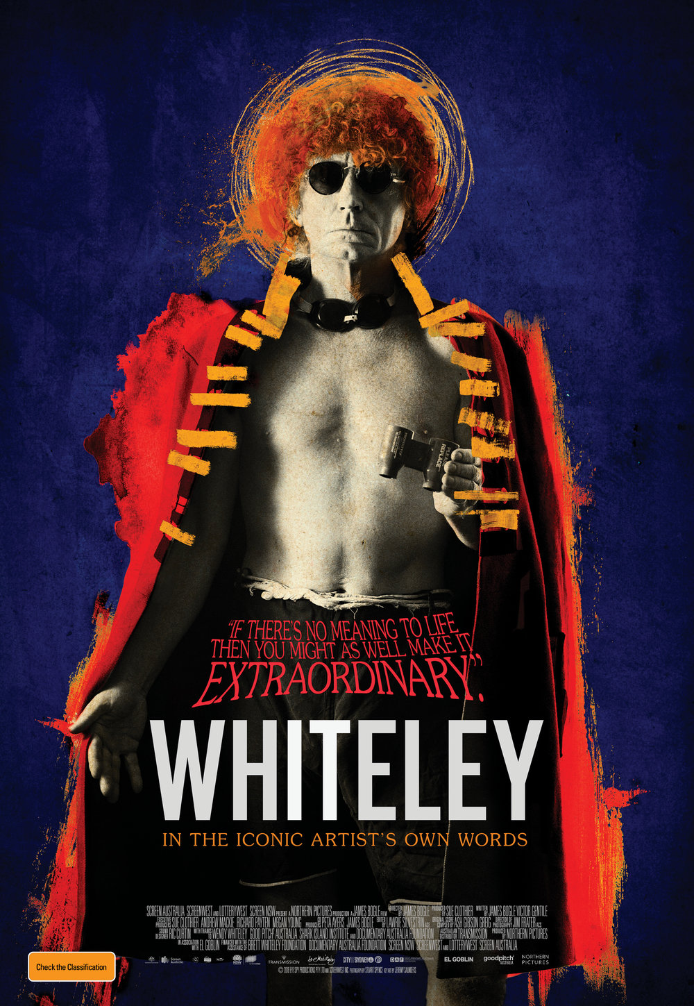 'Whiteley' feature film, client - Northern Pictures